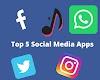 Top 5 Social Media Apps in 2019 | Best Social Media Apps