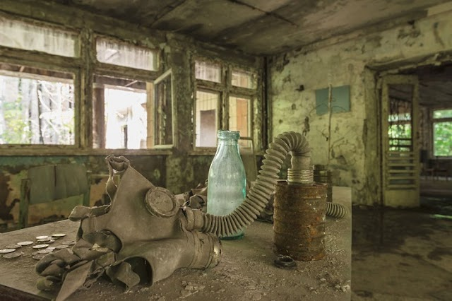 18 photos documenting the consequences of the Chernobyl disaster