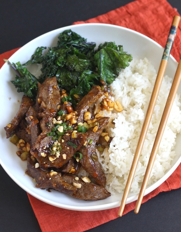 Spicy Sichuan Beef Stir Fry with Chili Bean Sauce by SeasonWithSpice.com