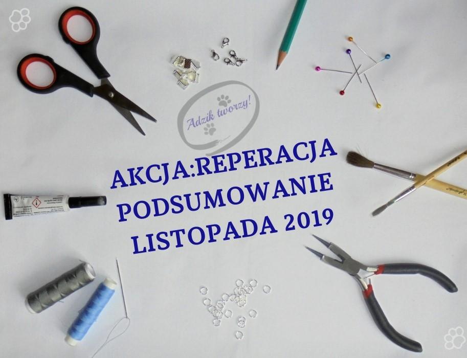 Akcja:Reperacja u Adzika - pomysły listopad 2019