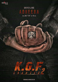 KGF Chapter 2 First Look Poster 4