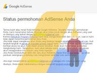 Cara Mengatasi Daftdaftar Google Adsense Cuma di PHP, tidak diterima, ditolakpun tidak tahu