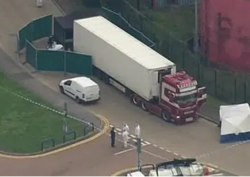 UK police identifies 39 dead bodies found in a truck to be Chinese nationals
