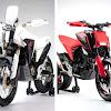 Honda Daftarkan Paten CB125X dan CB125M si SuperMoto Sangar