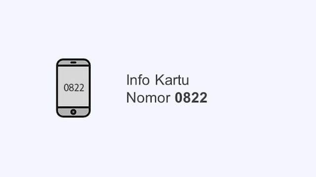 0822 nomor kartu apa