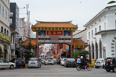 Chinese Street, Kuching Sarawak Malaysia