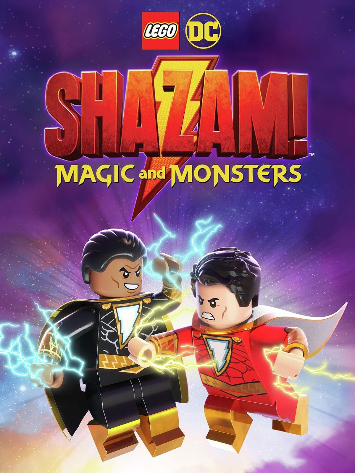 Lego DC: Shazam!: Magic and Monsters [2020] [DVDR] [NTSC] [Latino]