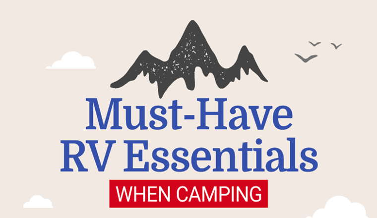 RV Essentials: A Must-Have List When Camping #infographic
