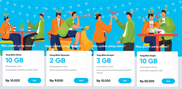 Paket Internet by.U