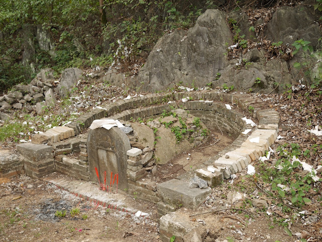 Chinese-style tomb on Pingfeng Hill in Yunfu, Guangdong
