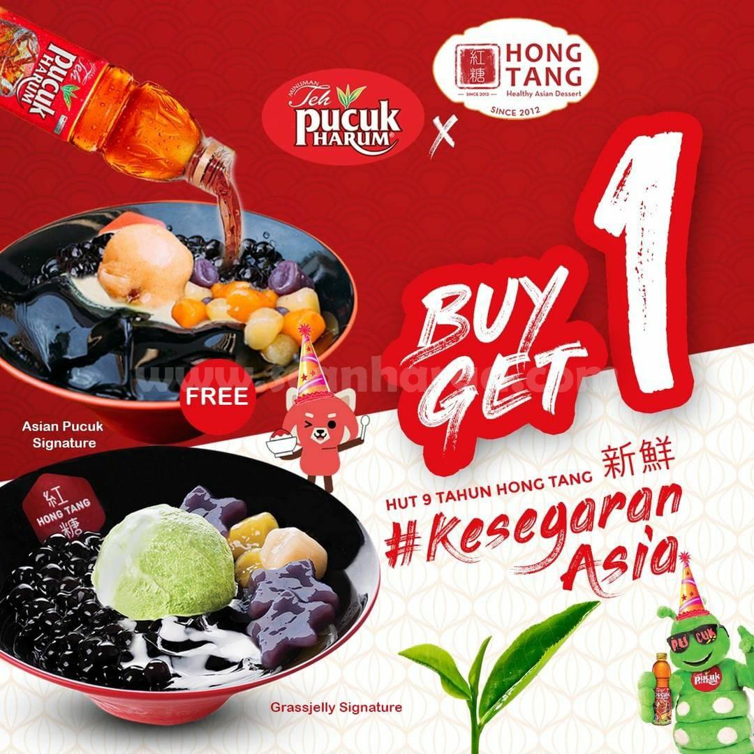 Hong Tang Promo Weekend Buy 1 Get Free!