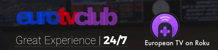 EuroTVClub on Roku