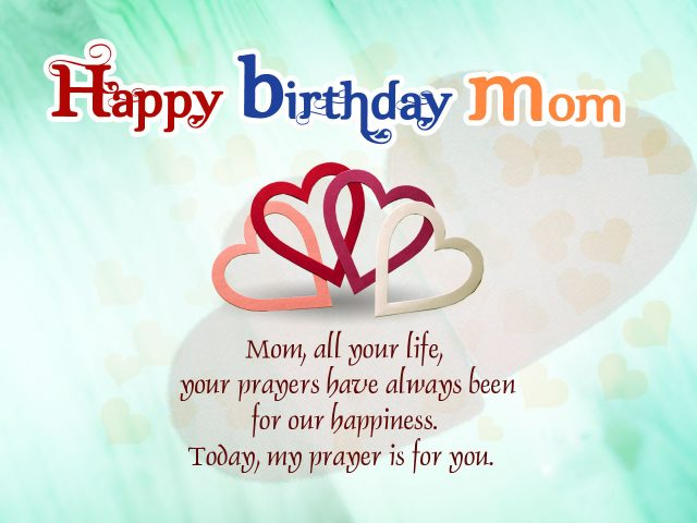 Happy Birthday Messages for a Mother