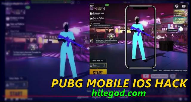 pubg mobile ios iphone hile hack 2021