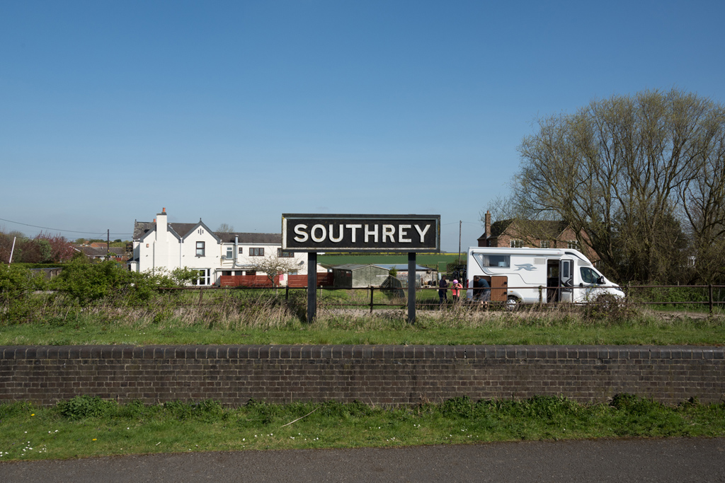 Southrey railway station