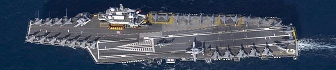 Charles De Gaulle Carrier To Exercise With Vikramaditya In Indian Ocean In April