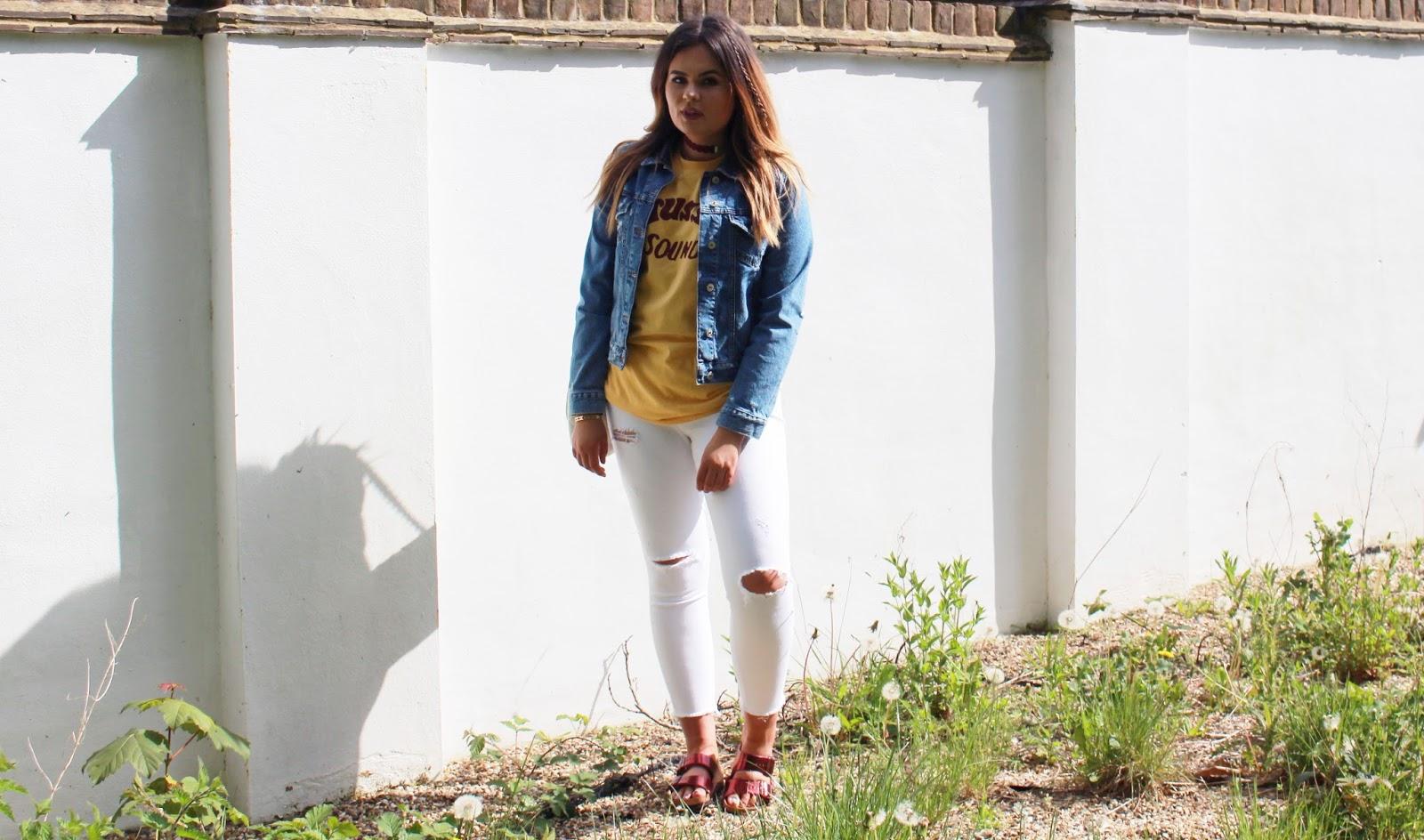 streetwear, stussy ss16, mango bowie jacket, vintage denim jacket, agolde jeans blogpost, summer casual outfit