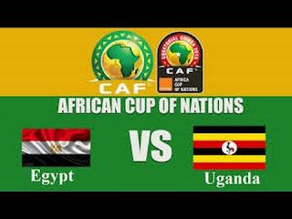 حصريا شاهد مبارة  اوغندا VS مصر