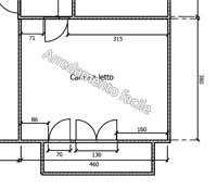 Collocare cabina armadio in camera da letto