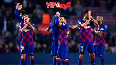 سلافيا براج التشيكي ضيفا لبرشلونة الاسباني في مباراة اياب دور المجوعات من دوري ابطال اوروبا 2019\2020 .