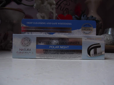 prírodná sibírska bieliaca zubná pasta - čierna noc Natura Siberica