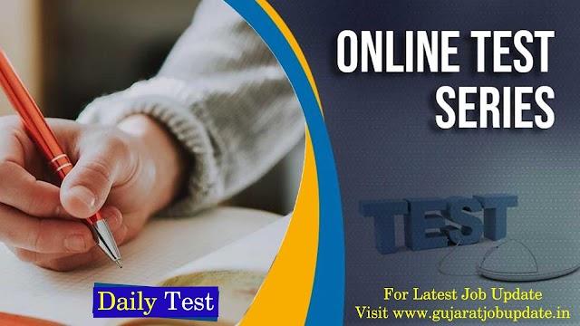 Gujarat Competitive Online Mock Test 2021
