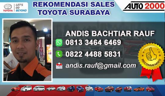 Rekomendasi Sales Toyota Auto 2000 Wiyung Surabaya