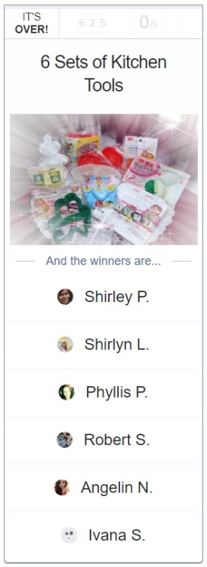 rafflecopter mothers day giveaway winners daiso kitchen gadgets