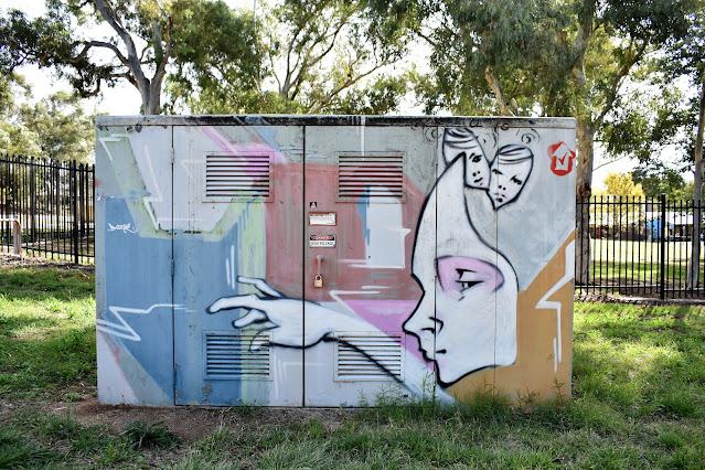 Canberra Street Art | Scullin NBN Art