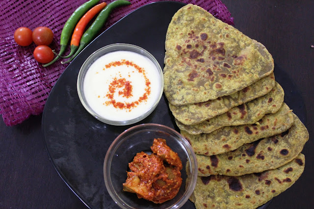 Avocado Paratha(Vegan Indian Style Avocado paratha)Foodiezflavor.com