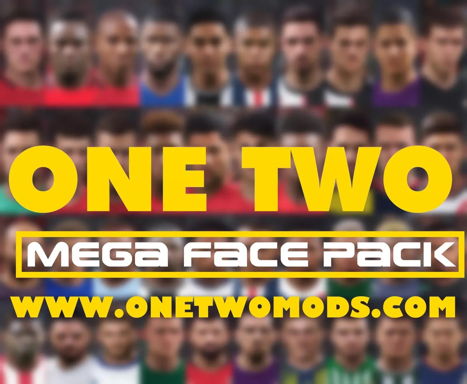 أفضل واحدث باك اوجه لبيس 17 لاكثر من 7800 لاعب   PES 2017 Mega Facepack 2021 (7800 Faces)