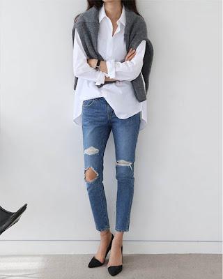 Outfit elegante para trabajar desde casa