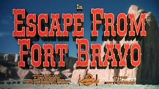 Escape from Fort Bravo title screen