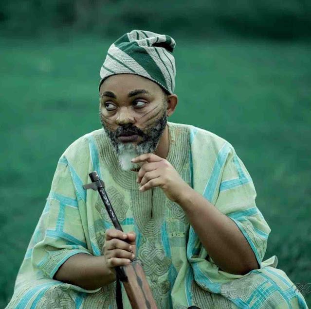 If I was a Man, I go break plenty hearts- Mercy aigbe says as she poses like a man (photos)