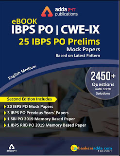 [Adda247] IBPS PO prelims English mock test ebook free download
