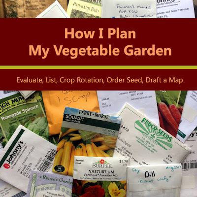 How I Plan My Vegetable Garden