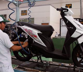 Trik dan Tutorial Meperbuat Servis Ringan Pada Motor