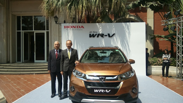 Honda launches WR-V in India at ₹7.82 lakhs