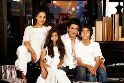 Shah Rukh With Family