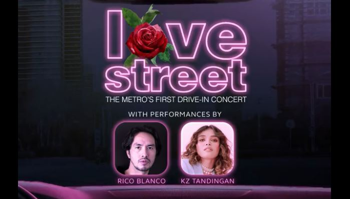 first-ever drive-in Valentine concert in BGC