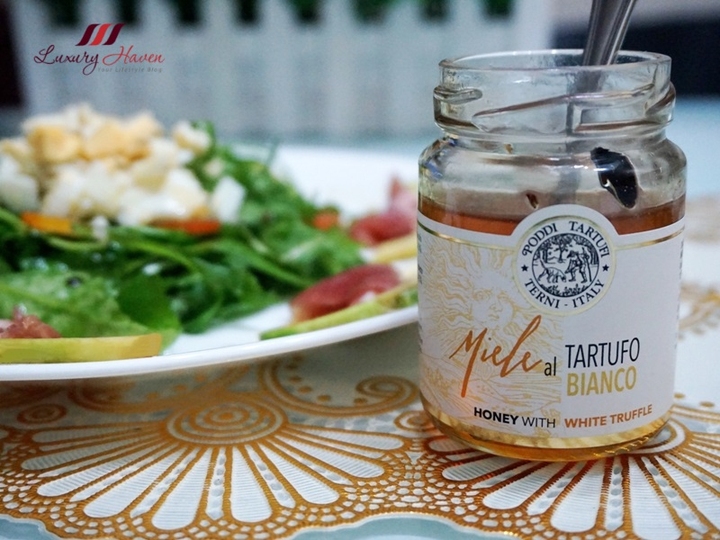 miele al tartufo bianco honey with white truffle