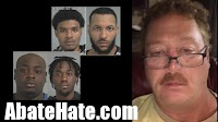 4 black males arrested after murder of white man and his dog
