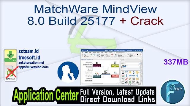 MatchWare MindView 8.0 Build 25177 + Crack_ ZcTeam.id
