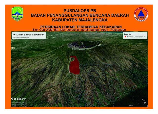 Kebakaran Gunung Ciremai