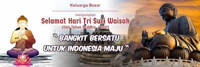 Banner Hari Raya Waisak CDR