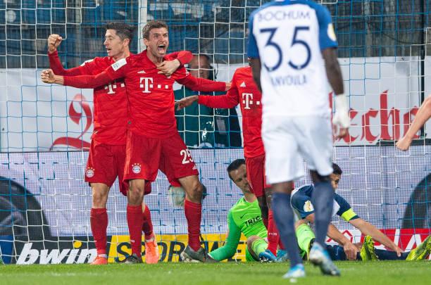 Hút chết trước đội hạng 2, Bayern lết vào vòng 3 Cúp QG 3