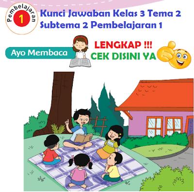 Kunci Jawaban Kelas 3 Tema 2 Subtema 2 Pembelajaran 1 www.simplenews.me