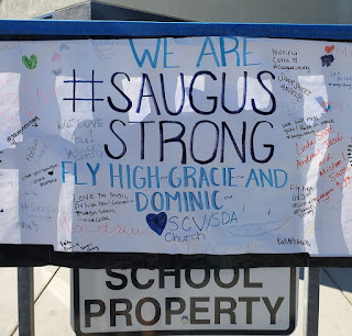 Saugus High shooting victims 15-year-old Gracie Anne Muehlberger and  14-year-old Dominic Blackwell,