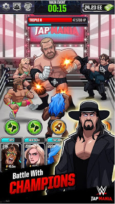 WWE Tap Mania v15077 APK MOD Free (Unlimited Money)
