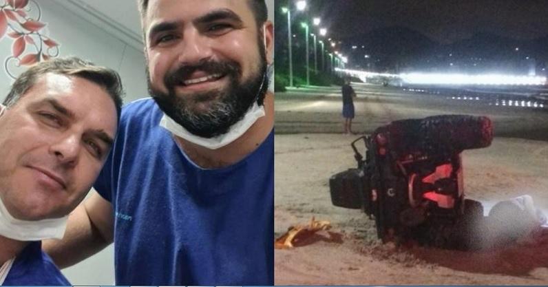 Flávio Bolsonaro sofre acidente em viagem ao Nordeste - Portal Spy Notícias